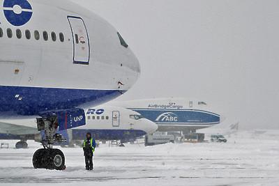 Ваэропорту «Домодедово» столкнулись дваавтомобиля обслуживания