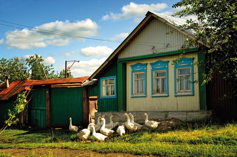 Землю в Игуменица дом в деревне