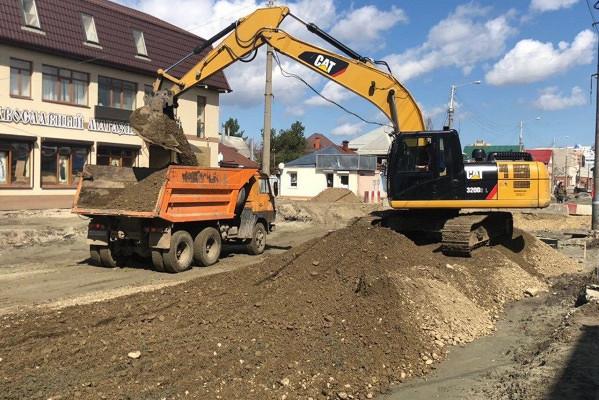 Подрядчик: работы поремонту улицы Тургенева вКраснодаре неостановлены