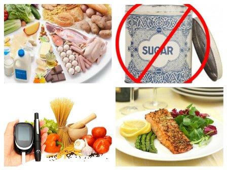 Варианты диеты при диабете