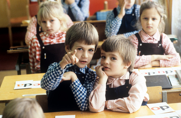 Зачем вСССР мальчики идевочки носили бюстгальтеры