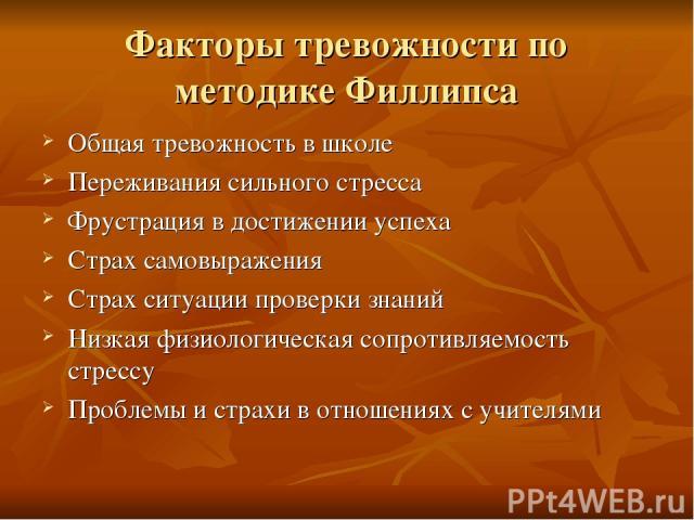 Панические атаки у детей и подростков - Meddoc