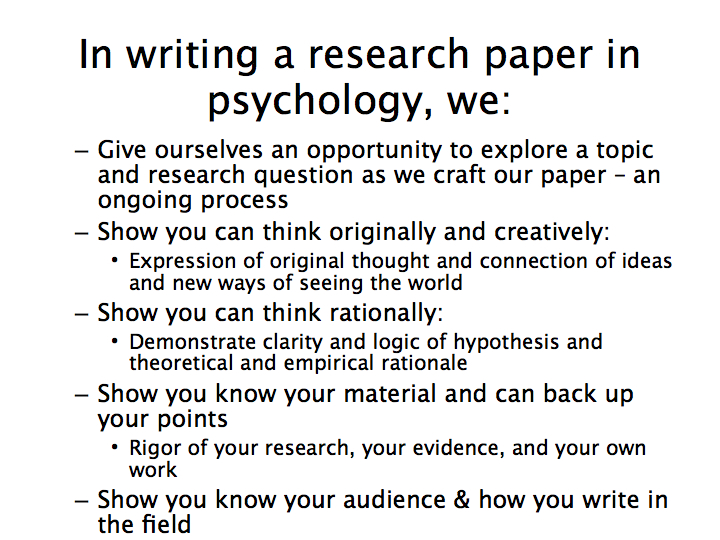 Write my psychology research paper topics