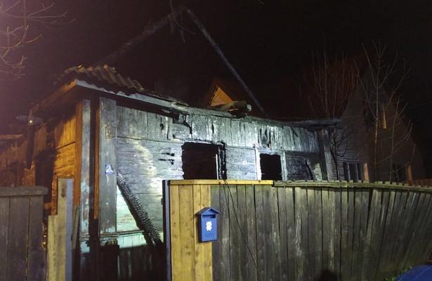 Семья спятью детьми сгорела вчастном доме подСмоленском
