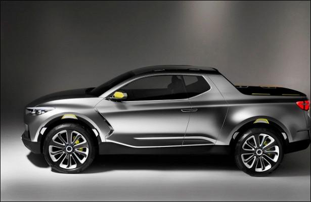 Hyundai рассказала опервом серийном пикапе Santa Cruz