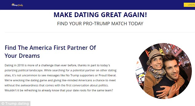 Dating service for trump supporters
