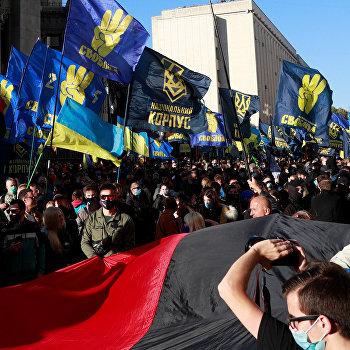 Западная Украина с12по16октября: «День УПА*» почти безфакелов, половина областных центров— «красные», авЧерновцах…