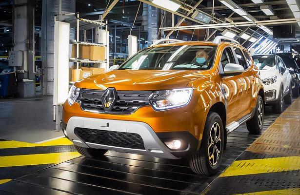 Объявлены рублевые цены икомплектации Renault Duster второго поколения