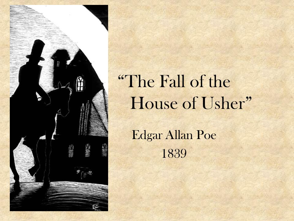 Write my the fall of the house of usher essays