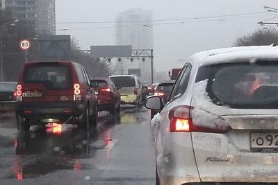 Водителям рассказали отекущих пробках вПодмосковье
