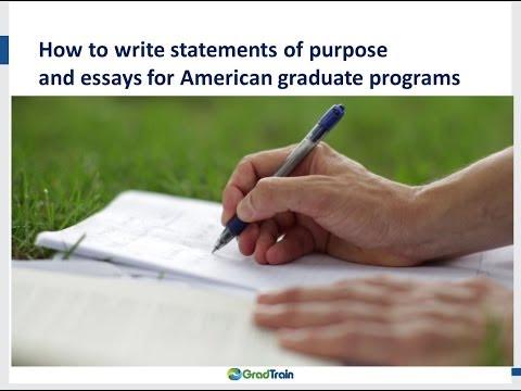 Write my essay purpose