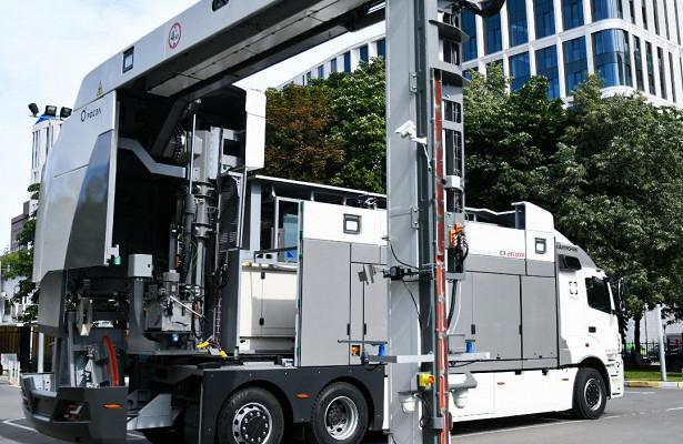 Мобильный досмотровый комплекс поставлен Федеральной таможенной службе