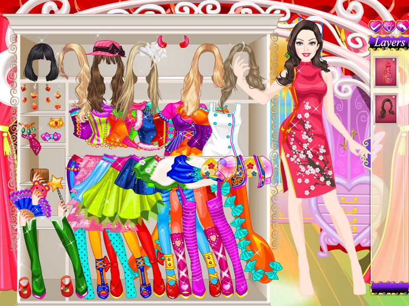 Pretty Barbie Dress Up Game - My Real Games
