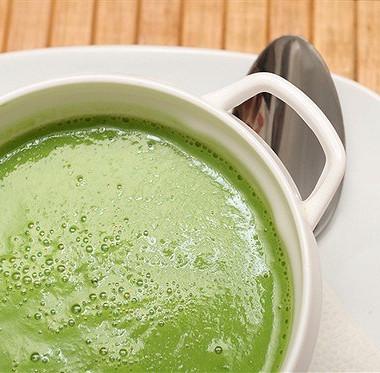 Рецепт Суп-пюре иззеленого горошка