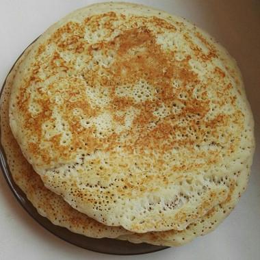 Рецепт Блины заварные накефире