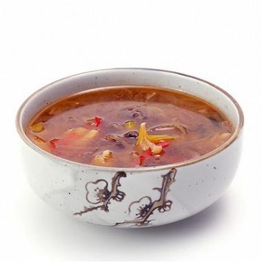 Рецепт Говяжий суп срисовой лапшой изЮго-восточной Азии