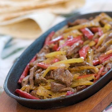 Рецепт Ароматная жареная говядина скумином ичили