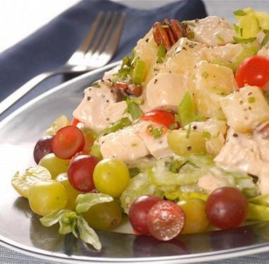 Рецепт Куриный салат сананасом