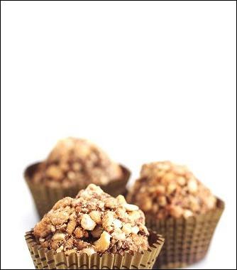 Рецепт Быстрые шоколадные трюфели сорехами пекан