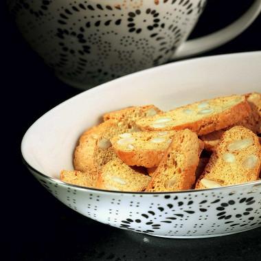 Рецепт Лимонные бискотти сминдалем
