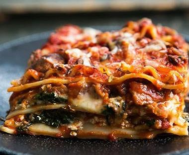 Рецепт Вегетарианская лазанья сбаклажанами