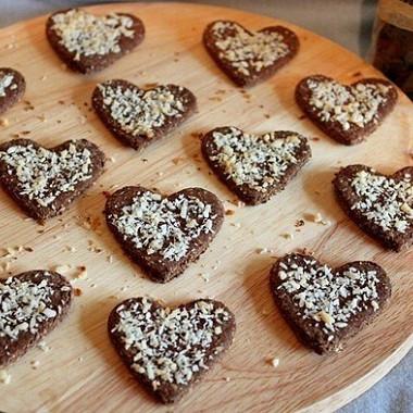 Рецепт Шоколадное галетное печенье (крекеры)