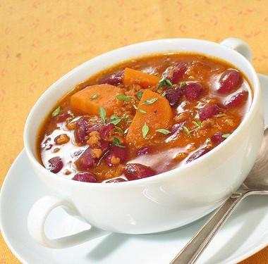 Рецепт Вегетарианский зимний суп