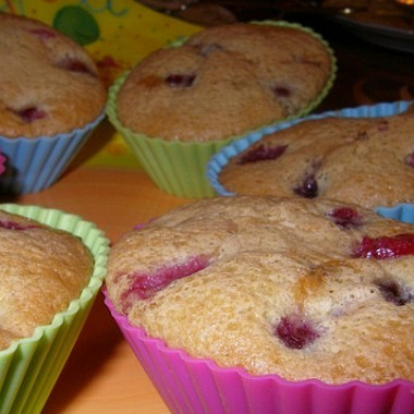 Рецепт Вишневые кексы