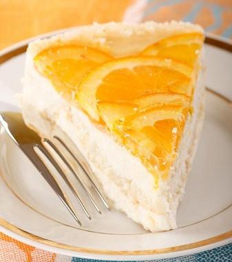 Рецепт Быстрый творожно-апельсиновый пирог