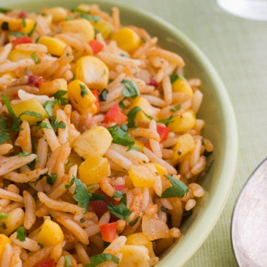 Рецепт Мексиканский рисовый салат