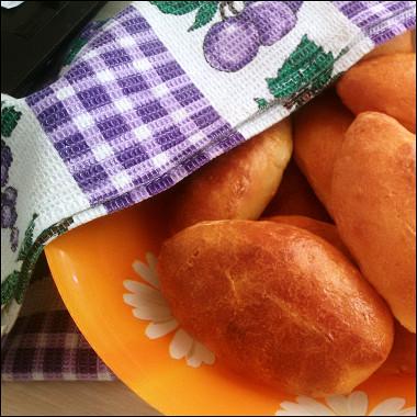 Рецепт Быстрое дрожжевое тесто дляпирожков