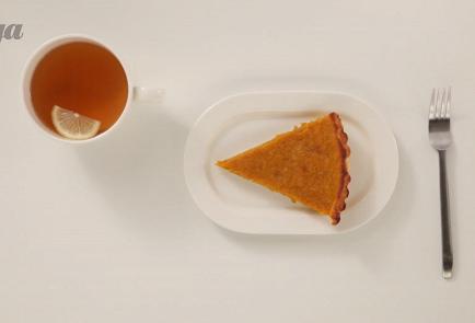 Фото приготовления рецепта: Американский тыквенный пирог с корицей - шаг 4