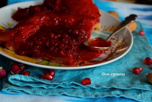 Малиновый тарт татен