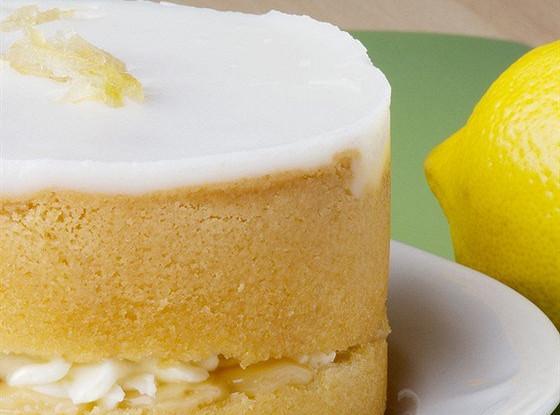 Лимонный пудинг со сливками