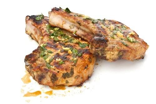 Цитрусовый маринад для свинины