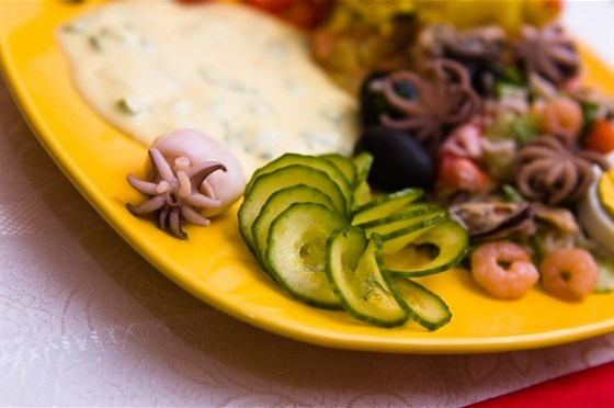 Соус для салата из морепродуктов
