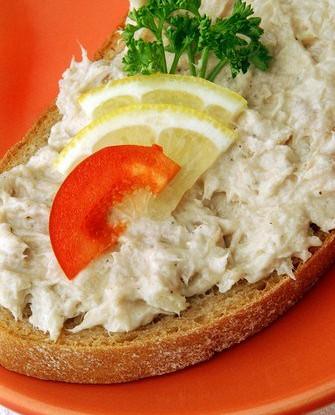 Паштет из тунца и овощей