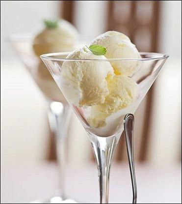 Сливочное мороженое