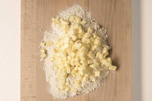 Домашнее слоеное тесто