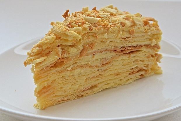 Торт «Наполеон» без яиц
