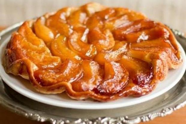 Яблочный пирог-перевертыш