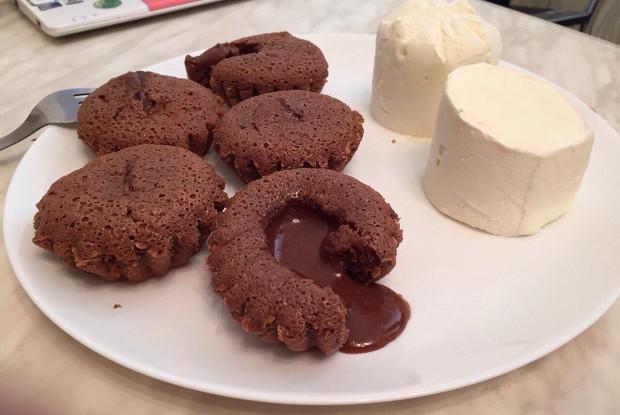 Шоколадный фондан (Chocolate fondant)