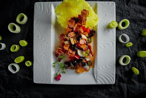 Овощи в кисло-сладком соусе