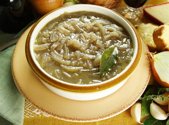 Суп луковый по-итальянски