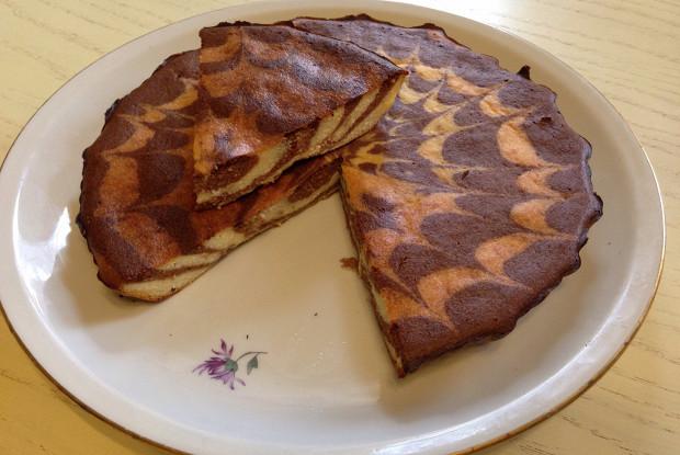 творожный пирог зебра рецепт