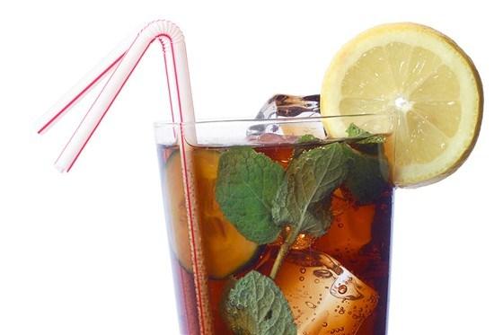 Мятный коктейль с виски