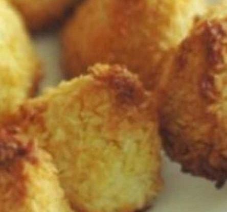 Быстрое кокосовое печенье с медом