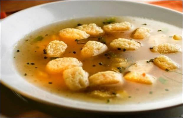 Капустный суп с галушками