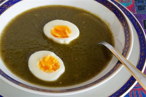 Суп-пюре щавелевый