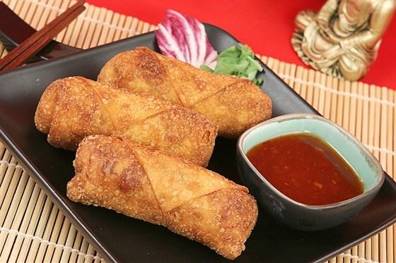 Свиные роллы с китайским соусом